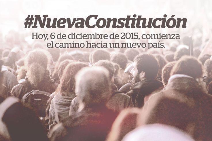 #NuevaConstitución