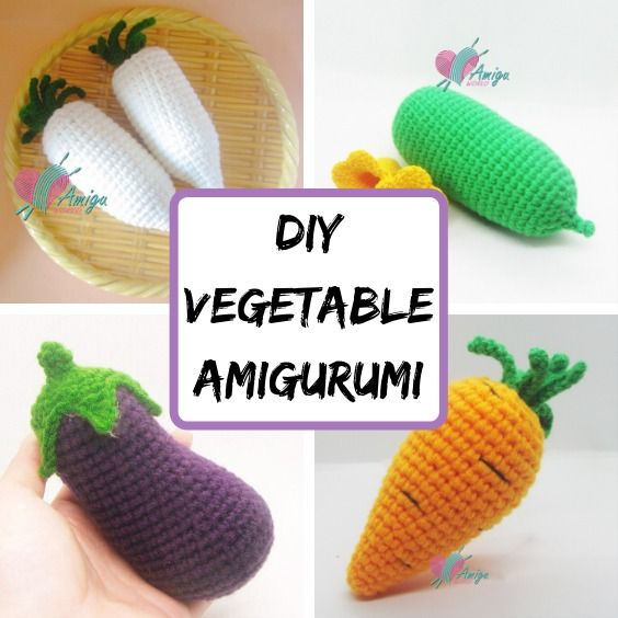Admire These Adorable Fruits And Vegetables [Free Crochet Patterns ... | 564x564