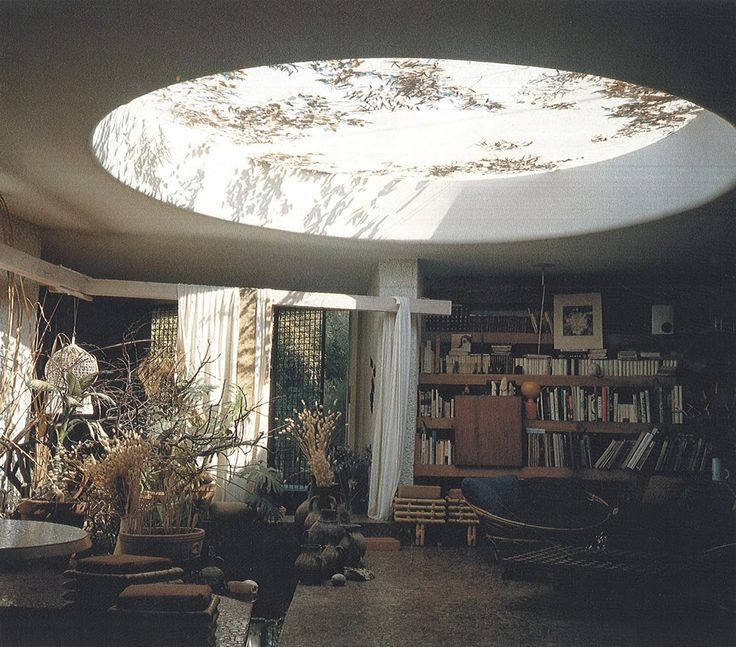 Hidden Architecture: Villa et Atelier Zevaco avec oculus ; Casablanca 1975