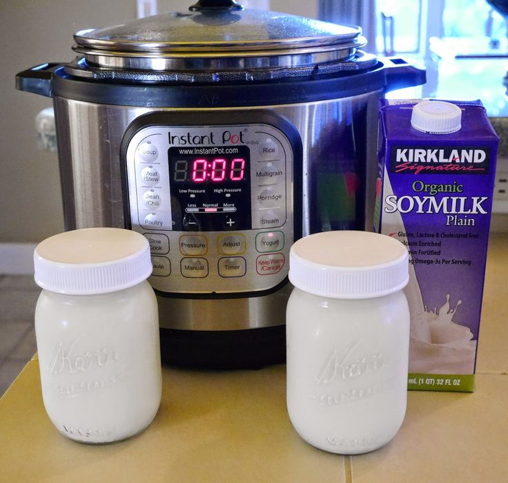 Foods For Long Life: Make Thick, Creamy Vegan Yogurt With An Instant Pot Or Yogurt Maker - 5 Minutes Prep Time! No Added Thickeners Or Gums Needed