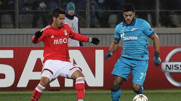 Benfica vs. Zenit vuelven este martes a medir fuerzas en partido de ida de octavos de final de la Champions League cuatro años después, con el objetivo compartido de convertirse en una de las sorpresas de esta edición y pasar a cuartos (2:45 p.m. / FOX Sports). Febrero 15, 2016.