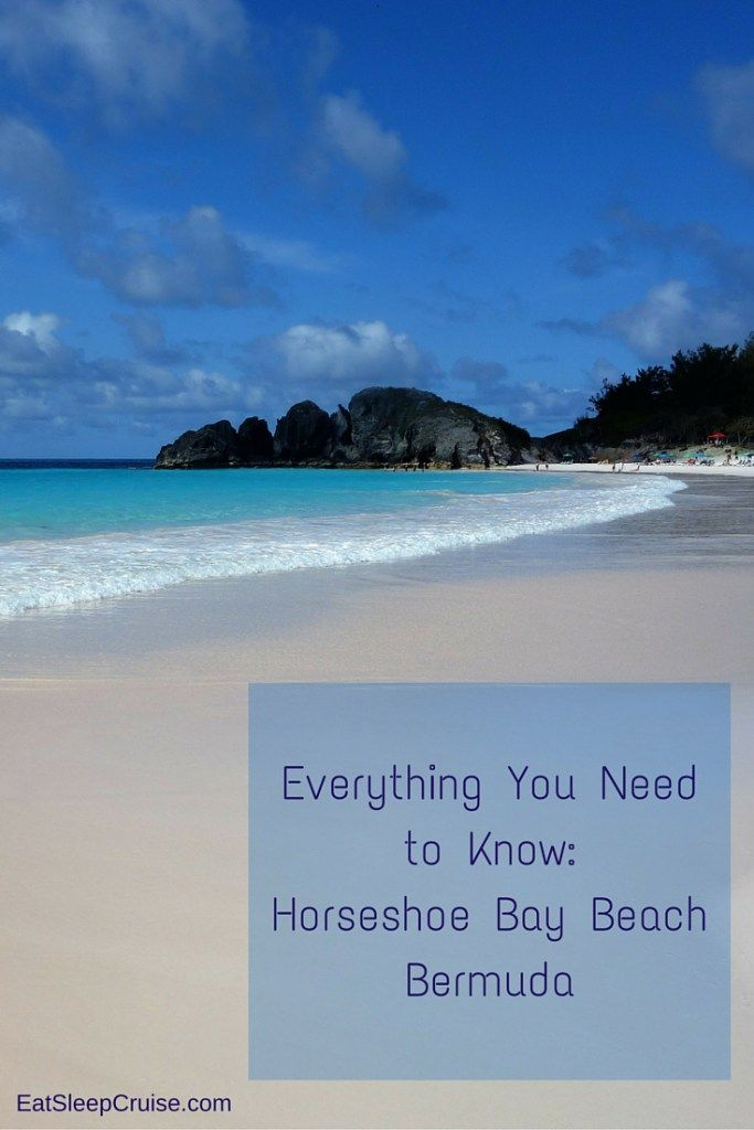 Horseshoe Bay Beach Bermuda- everything you need to know to have a fabulous beach day!