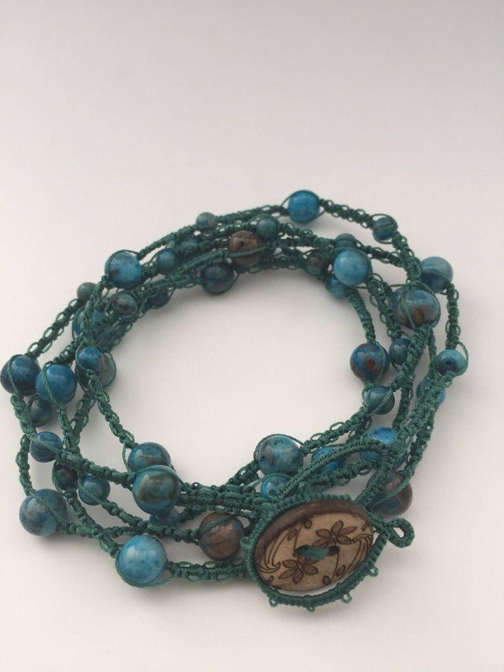 Le chouchou de ma boutique https://www.etsy.com/ca-fr/listing/521469134/new-bracelet-wrap-5-rows-necklace-1-or-2