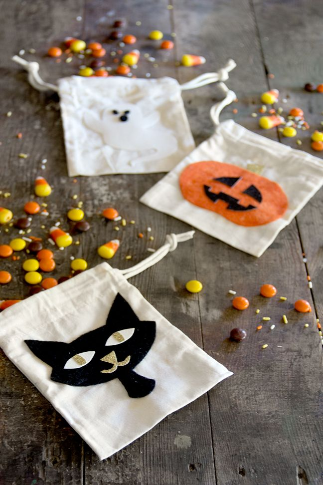 191 best Halloween images on Pinterest Holidays halloween - decorate halloween bags