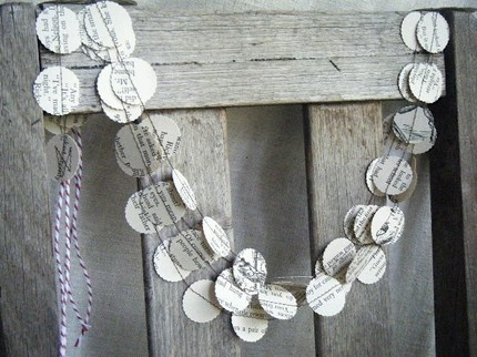 Vintage storybook garland from Maisy & Alice