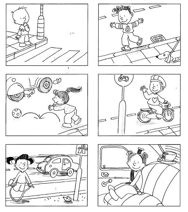 Kitchen Safety For Kids Worksheets: 19 Best Road Safety Activities Images On Pinterest