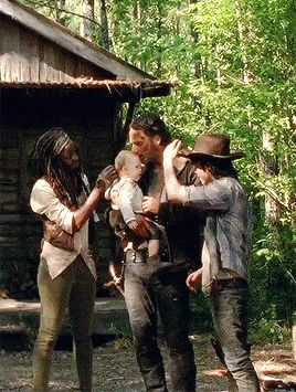 family, rick grimes, and gif image                                                                                                                                                      More