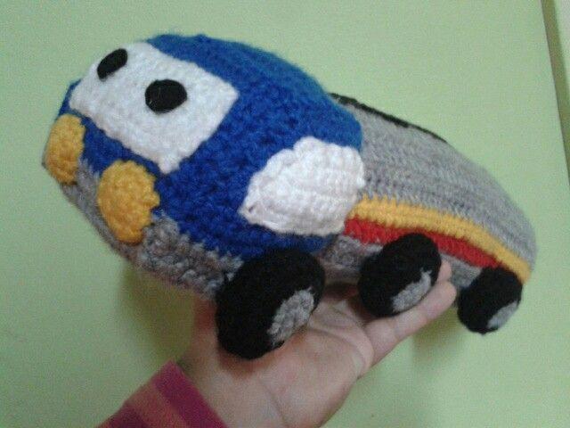 Camion amigurumi
