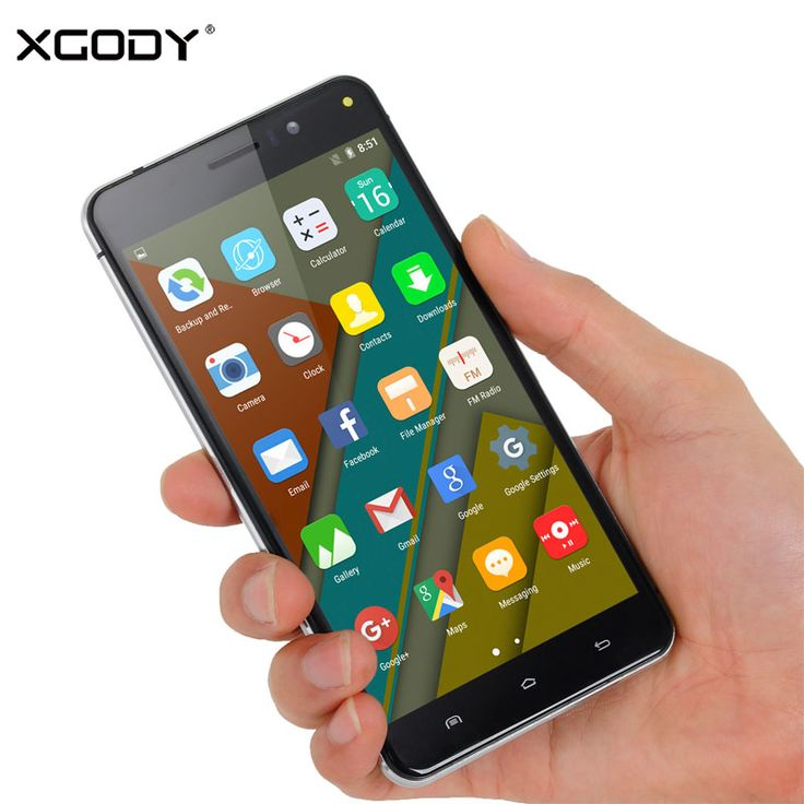 >> Click to Buy << XGODY Smartphone 5.5 Inch Android 5.1 RAM 1GB+ROM 8GB Quad Core With 8MP GPS Telefone Celular 3G Unlocked Cell Phones #Affiliate