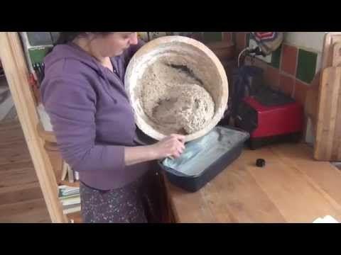 """Bezlepkový ró """"chléb"""" z klíčků - YouTube"""