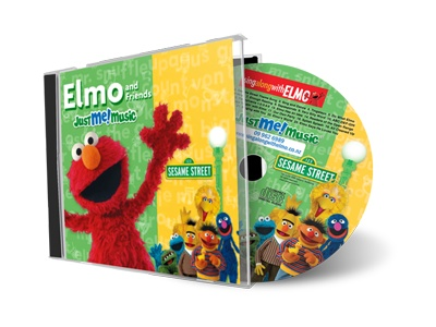 Elmo sings to your kiddo!  http://justmemusic.com/Pages/personalized-sesame-street-elmo-music-cd.html