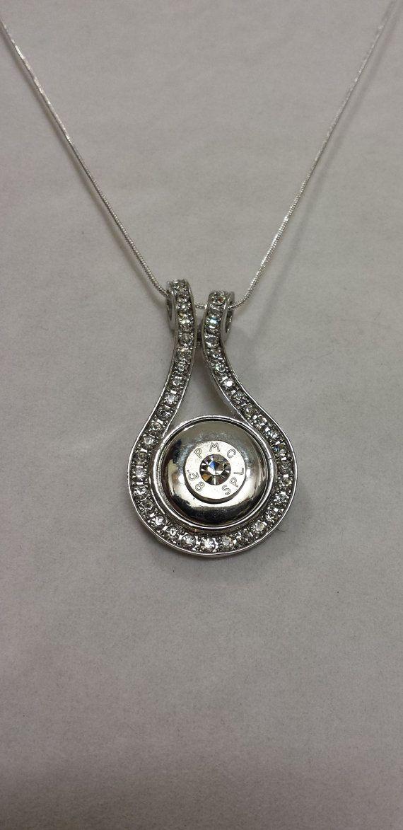 Elegante bala Shell Carcasa Necklace| Bala Jewelry| Bala necklace| Casing| de concha de bala Necklaces| Regalos de pistola