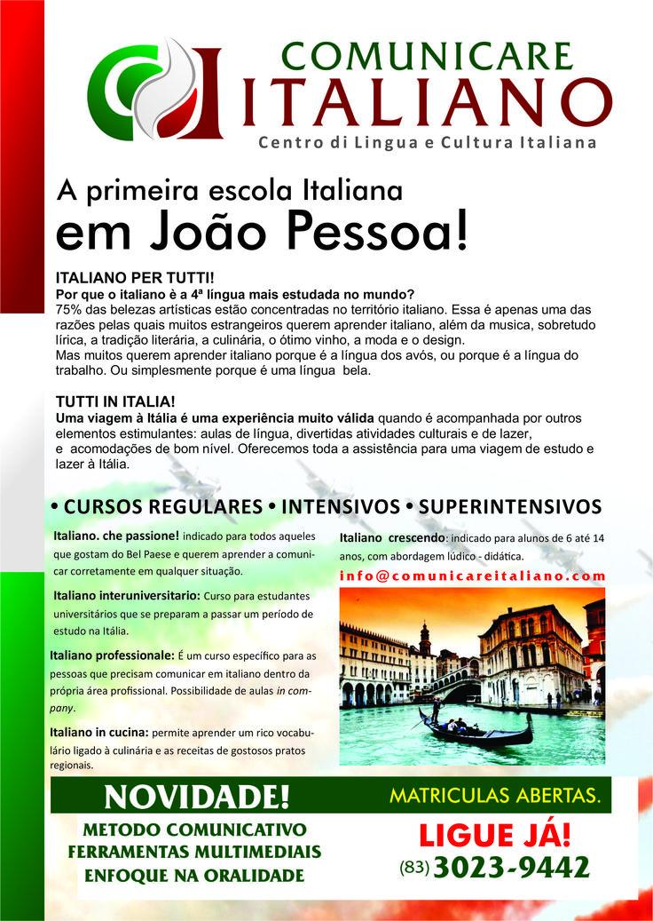 Comunicare Italiano apre i corsi a J.P.
