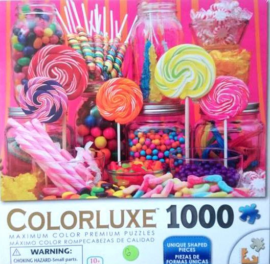 Colorluxe Sweet Delights 1000 Piece Jigsaw Puzzle Christmas Gift FAST FREE Post