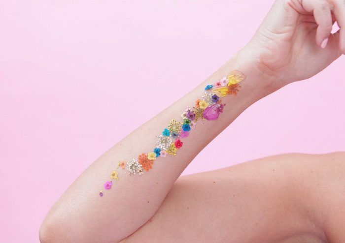 kvetinové tetovania