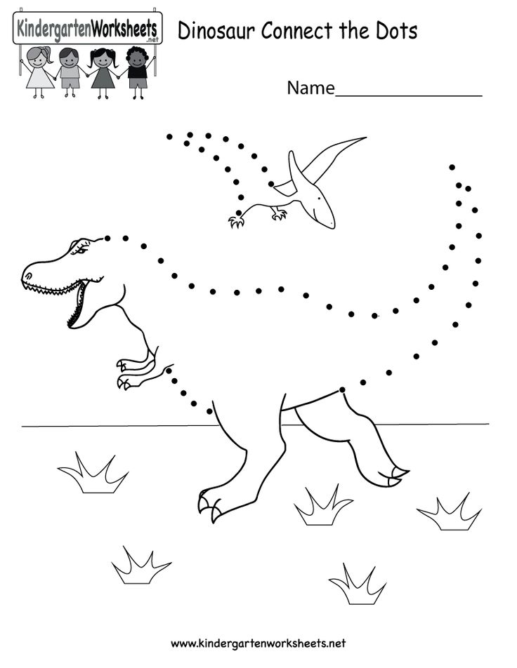Free Dot To Dot Worksheets For Kindergarten