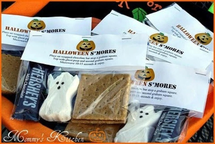 cute ghost smores