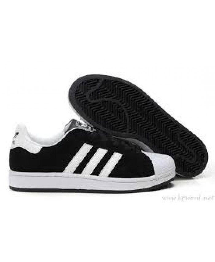 UK Sale Adidas Superstar Womens Black Discount Shoes T-1273