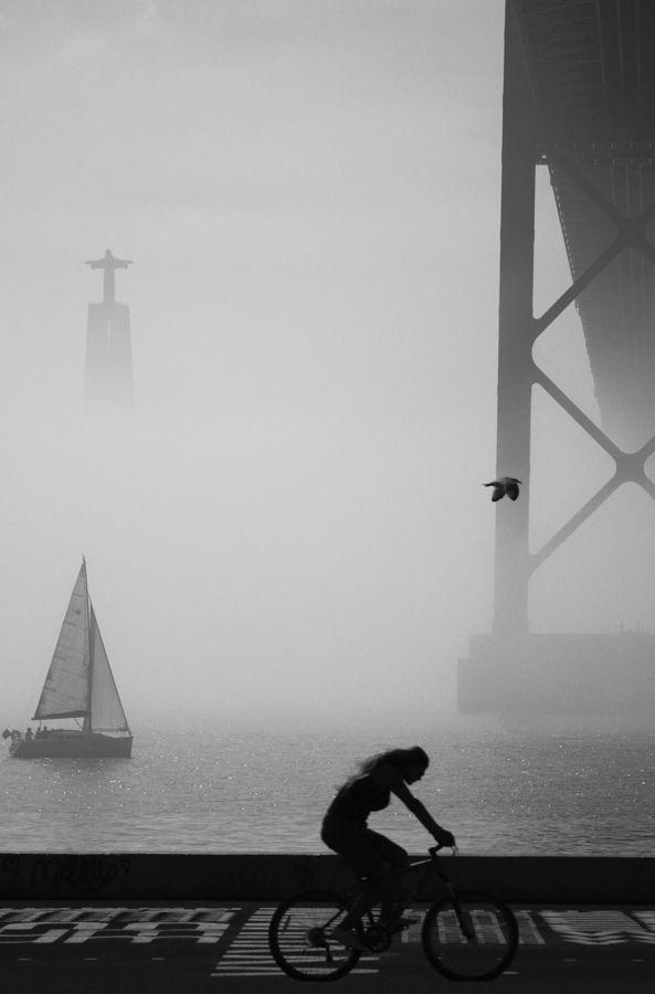 Cristo Rei, ponte 25 de Abril, Rio Tejo … Lisboa
