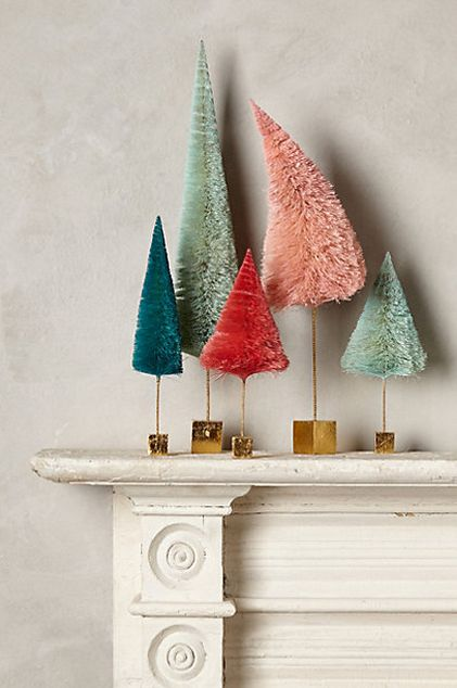 Cute little tree family #anthrofave