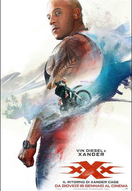 xXx - Il ritorno di Xander Cage xXx - The Return of Xander Cage USA: 2017 Genere: Azione Durata: 107' Regia: D.J. Caruso Con: Vin Diesel, Nina Dobre