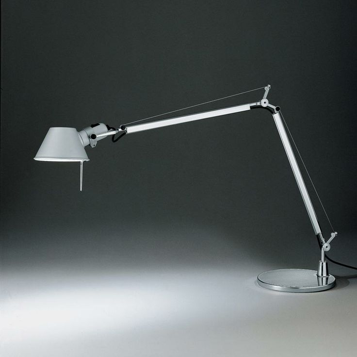 """70. """"Tolomeo"""", Desk lamp, Artemide, Italy - Giancarlo Fassina, Michele de Lucchi, 1986"""