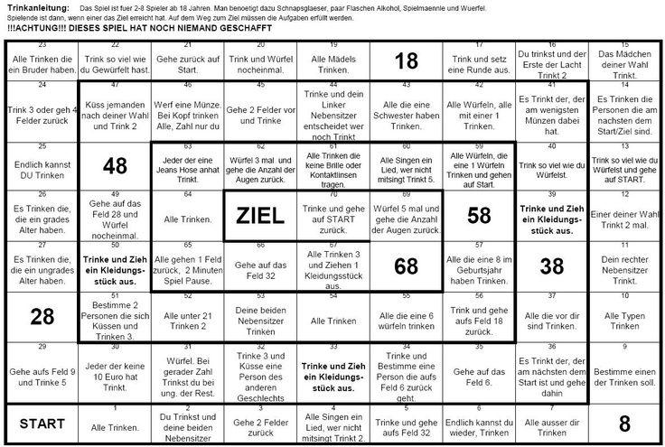 Trinkspiele Zum 18