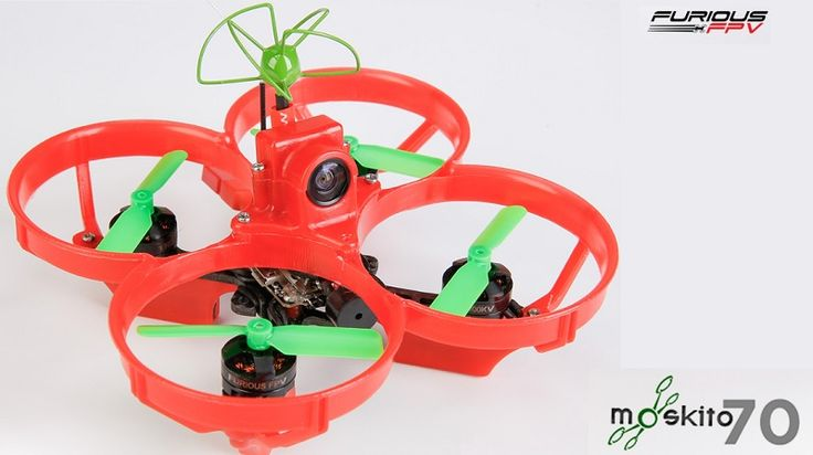 Furious Moskito 70 tiny brushless FPV racer