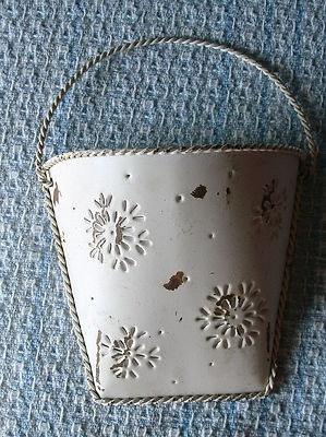 17 Best Images About Tin Wall Pockets On Pinterest