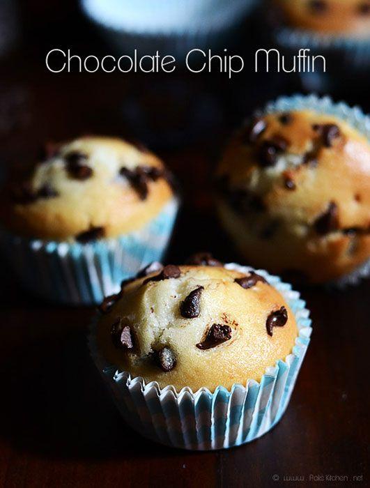 Resep Kue Muffin Choco Chip