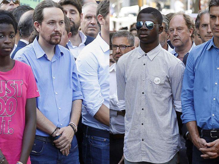 Podemos interpreta la camisa azul de Sánchez como otro acercamiento a sus tesis
