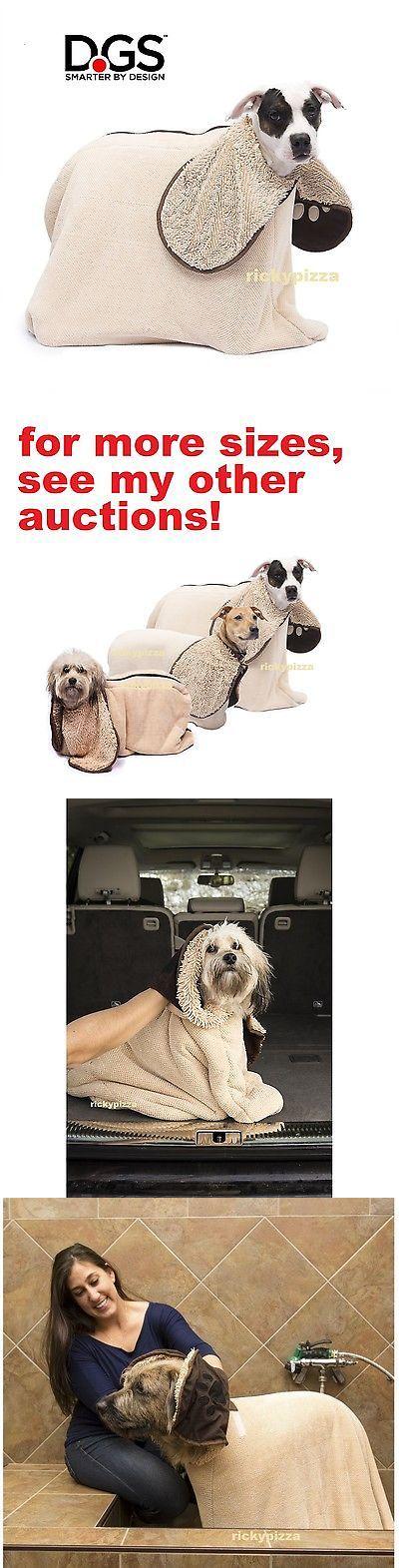 Blankets 116377: Dog Gone Smart Zip N Dri Wet Shake Dry Bath Towel M Medium Microfiber Blanket BUY IT NOW ONLY: $39.94