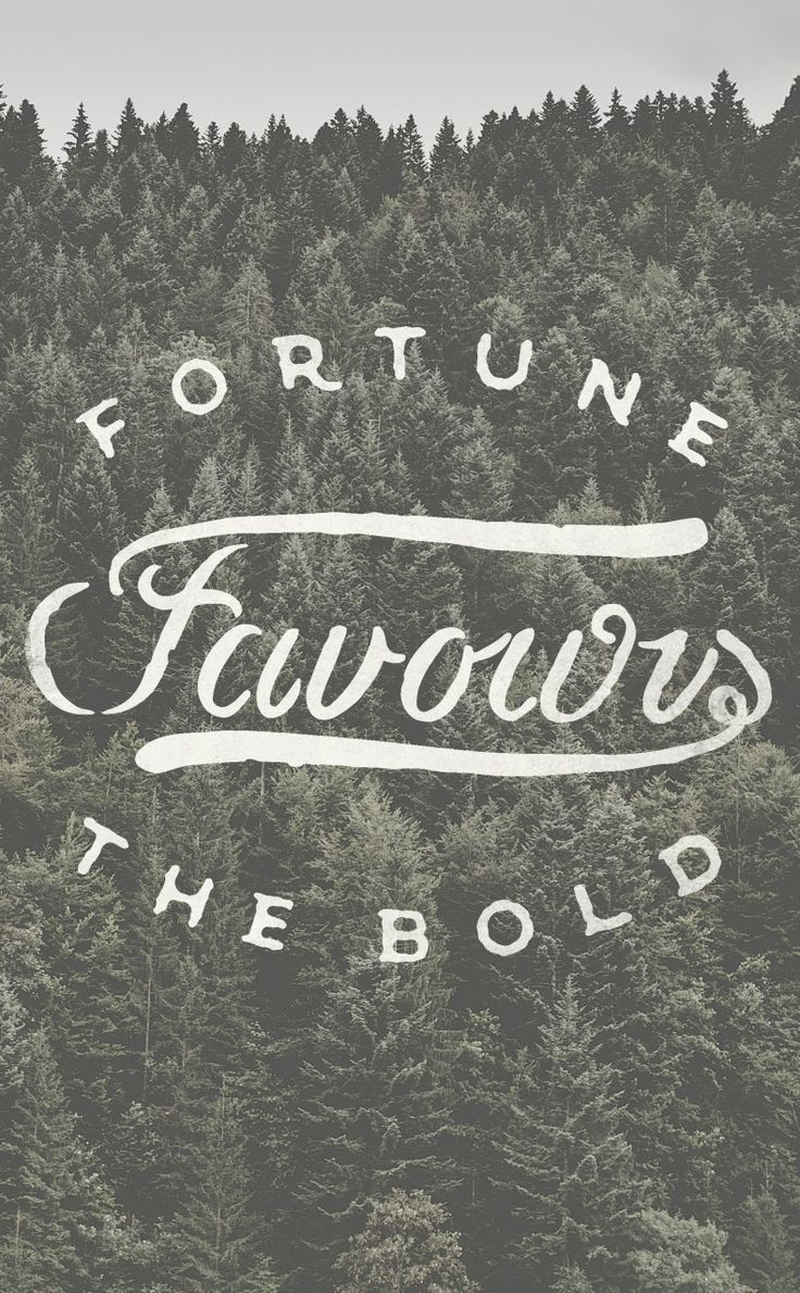 essay on fortune favours the bold An idiomatic essay on fortune favors the brave  so luck favors him who is soft and mild on onehand and bold and courageous on the other, but shy and.