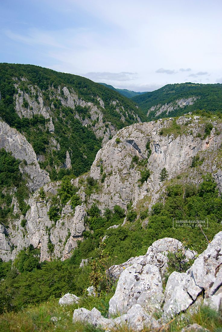 Slovenský kras is land complex geomorphological area of ​​Slovak Ore Mountains. There was proclaimed Národný park Slovenský kras.