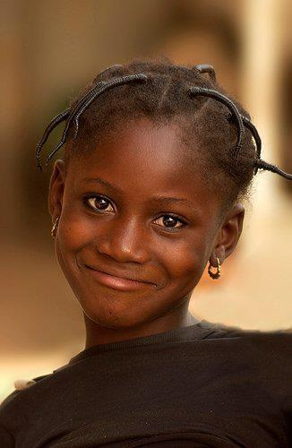 shy smile. Smile for me!
