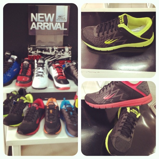 New Arrivals of #basketball and #running #shoes are finally here! Grab them