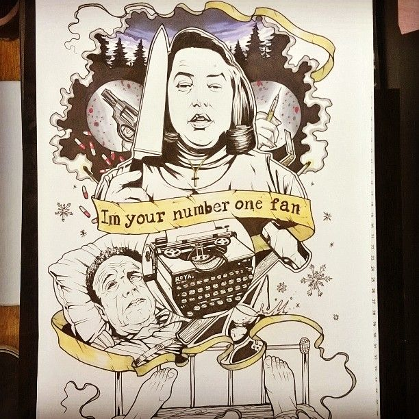 """Half way through completing my second Stephen king film tattoo flash for """"misery"""" @steeleandinktattoo #misery #Kathybates #jamescaan #Stephenking #filmtattoo #tattooflash #tattoo #tattoos #neotraditional"""