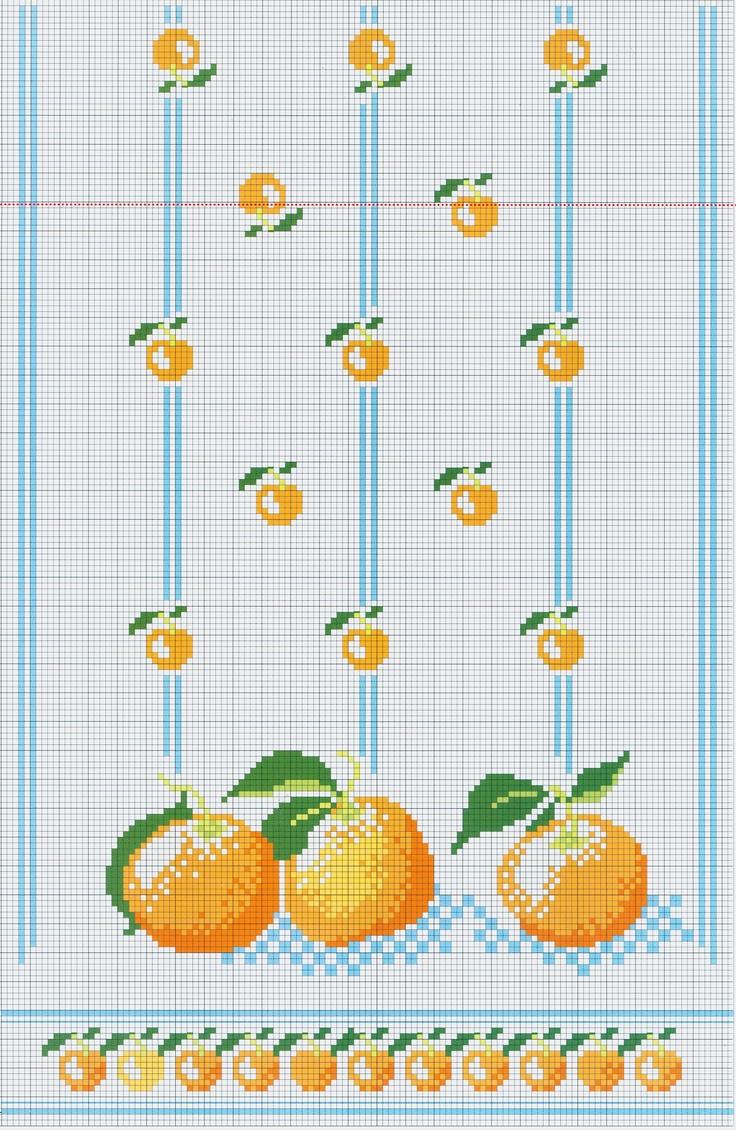 8 best oranges images on Pinterest | Cross stitches, Cross stitch ...