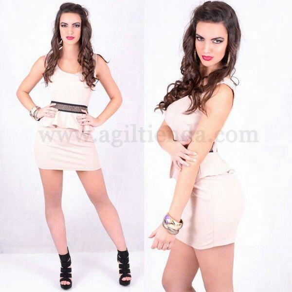 #SEXY #VESTIDO #COCTEL CON #VOLANTES #tejido #elastico, #vestidocorto #moda #disco #diseño #exclusivo y #sexy #escotado con #relleno en  el #busto y #lazo #elegante en la #espalda un #estilo #sofisticado con #volante en la #cintura que #destaca la #figura para #brillar #marcando #tendencia en #eventos. Encuentralo en #moda #vestidos de www.agiltienda.com #online #shop #sexy #fashion @agiltienda.es