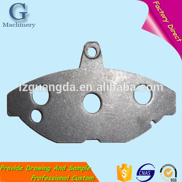 custom wholesale Auto and Truck Disc Brake Backing plate of Brake pad