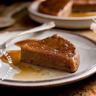 Receta Pudín de Yuca (Cativía Tapioca): Un ingrediente inusual para pasteles, pero el resultado es riquísimo, con una interesante mezcla de especias.