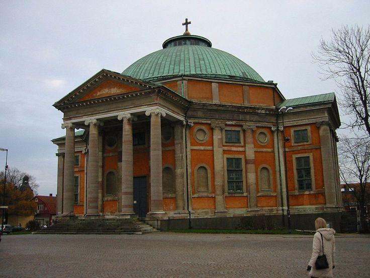 Church of Holy Trinity Karlskrona - Trinity Church (Karlskrona) - Wikipedia