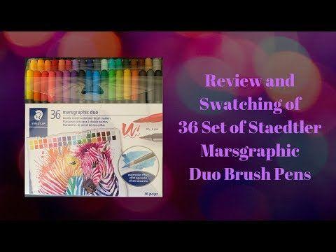Staedtler Marsgraphic 3000 Duo Brush Markers By Pesim65 Deviantart