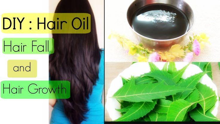 DIY : Neem Oil for Hair Fall and Hair Growth | Hair Fall Treatment | You...