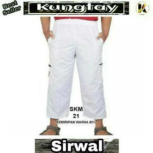 Sirwal Size Super Big Jumbo  Hitam Coklat Hijau Cream Navy Pangsi Ukuran XXXXL Black Brown Green Blue Warna Celana Panjang Pria KJK112