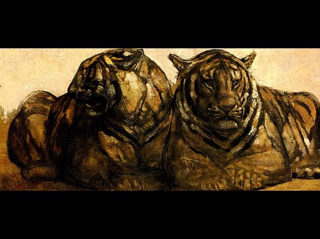 Tigre et Tigresse