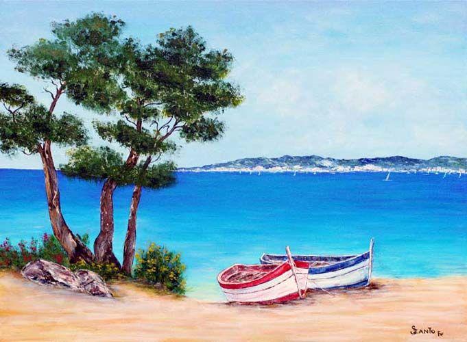 peinture marine panoramique - Recherche Google