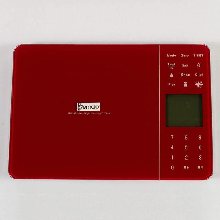 $94.900 Balanza Digital de Cocina, Mide 7 Valores Nutricionales con Capacidad de 5Kg.
