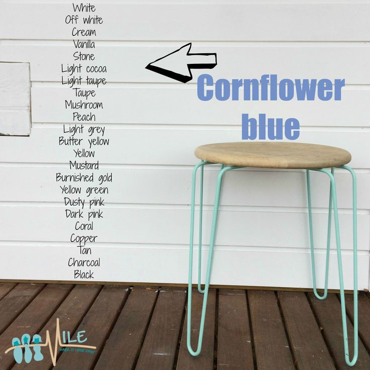Cornflower blue goes with...