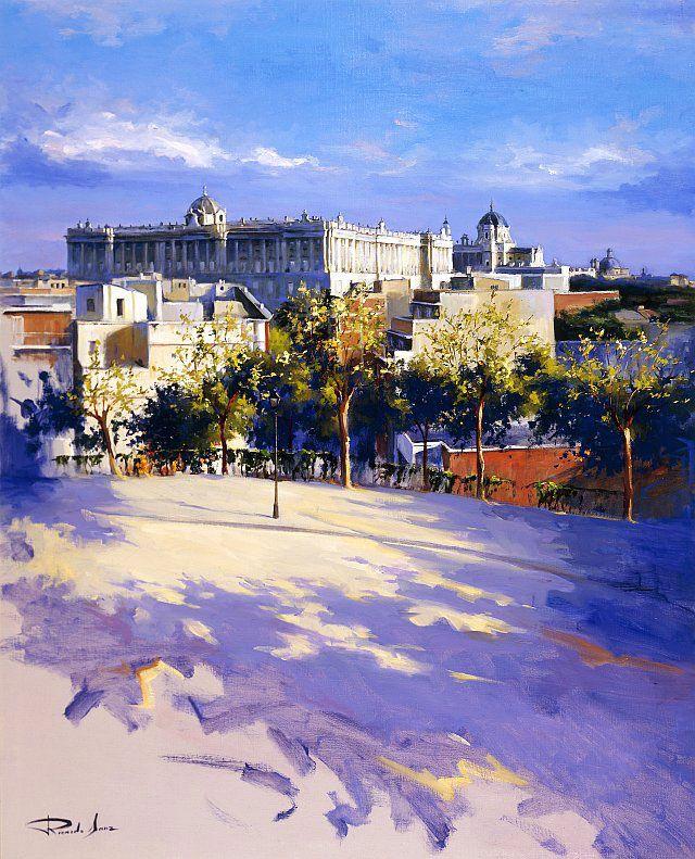 Grandes Artistas: Ricardo Sanz grandioso pintor de San Sebastian
